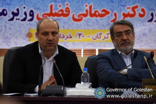 Governor General of Golestan at the meeting of the Resistance Economics Headquarters at the presence of the Minister of the Interior: 20 major resilient economy projects will boost Golestan