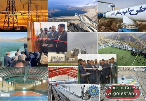 President inaugurates major power, water, sports projects across Iran