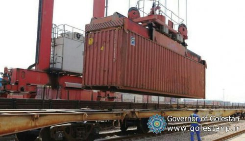 Iran starts rail export of cement via Bandar Torkaman